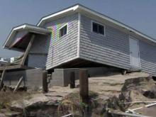 Hatteras torn apart by Irene's surge
