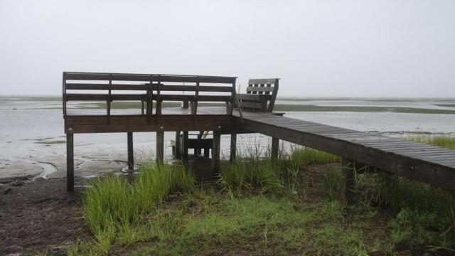 Photos of Hurricane Irene's impact in Frisco by Donny Bowens.