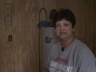Judy Brown's Hobucken home suffered flood damage from Hurricane Irene. Since the storm last month, she's been trying to get aid from FEMA.