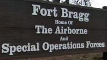IMAGE: Father: Son struck, hurt in Fort Bragg ceremony