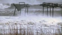 IMAGES: Hatteras, Ocracoke get worst of Hurricane Sandy in NC