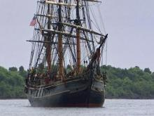 15 rescued, 1 missing from HMS Bounty