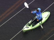 Kayaks on N.C. 12