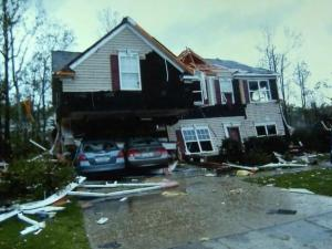 Storm victim has practical advice for rebuilding life from rubble