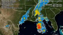 IMAGE: Karen weakens to depression off La. coast