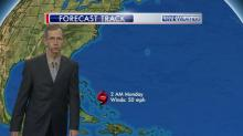 IMAGES: Cristobal's forecast path