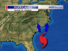 Hurricanes: Inland v. coastal