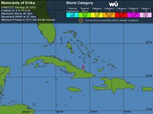 Erika Tracking - 5 Day
