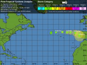 Joaquin Tracking - 5 Day