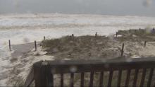 Holden Beach storm surge