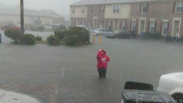 Flooding in Fayetteville