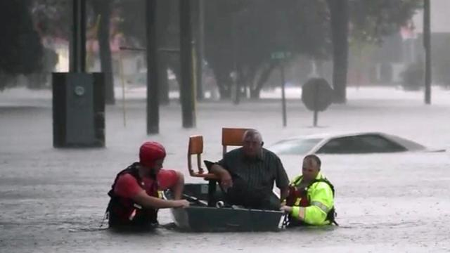 In Fayetteville: 100s rescued as water rises