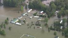 Sky 5: Surveying Matthew's damage in central NC