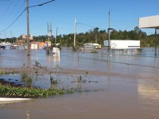 Flooding in Smithfield