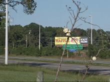 I-95 deserted near Dunn