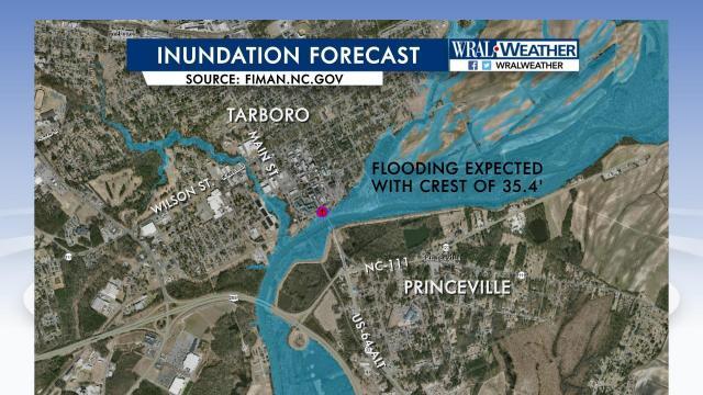 Princeville inundation forecast