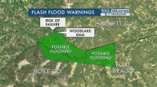 Woodlake dam breech imminent