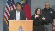 McCrory gives update on Hurricane Matthew
