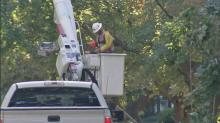 IMAGE: Duke Energy estimates all power will be restored by Sunday