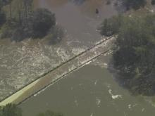 Seven Spring flooding evident from Sky5