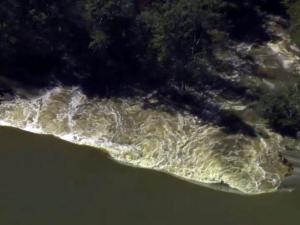 Sky 5: Breach at Duke plant's cooling pond