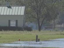 Much of Goldsboro remains under water