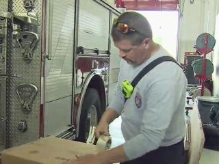 All nine of Cary's fire stations will serve as community drop-off sites on Saturday and Sunday.