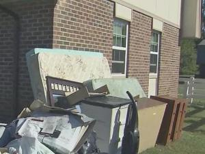 Fayetteville residents continue to clean up after Matthew