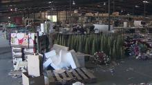 Warehouse owner says flooding destroyed most of his inventory