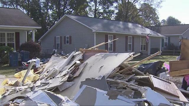 Matthew floods neighborhood of Habitat homes in Fayetteville