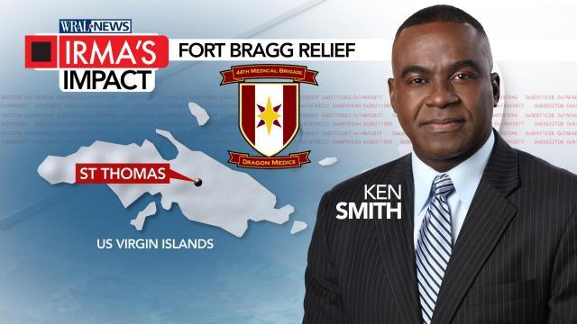 Irma's Impact: Fort Bragg Relief