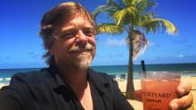 IMAGES: Ken Smith, Richard Adkins visit St. Thomas after Irma