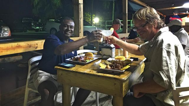 Eating local in Puerto Rico