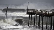 IMAGES: Maria brings rough surf to Outer Banks