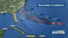 IMAGES: Florence could once again be a major hurricane when it approaches NC