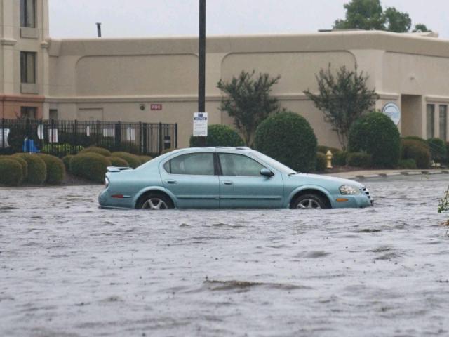 Florence floods New Bern<br/>Photographer: Adam Owens