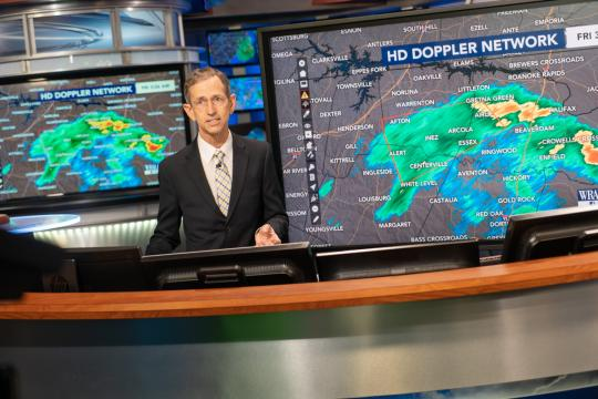 WRAL Weather Center prepares to say farewell to Mike Moss
