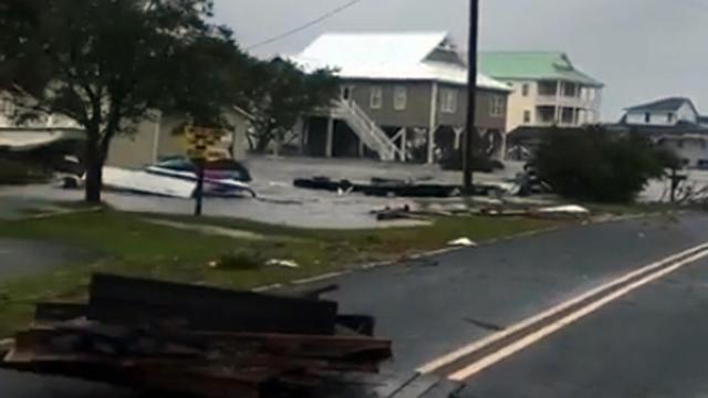 Damage in Emerald Isle :: WRAL com