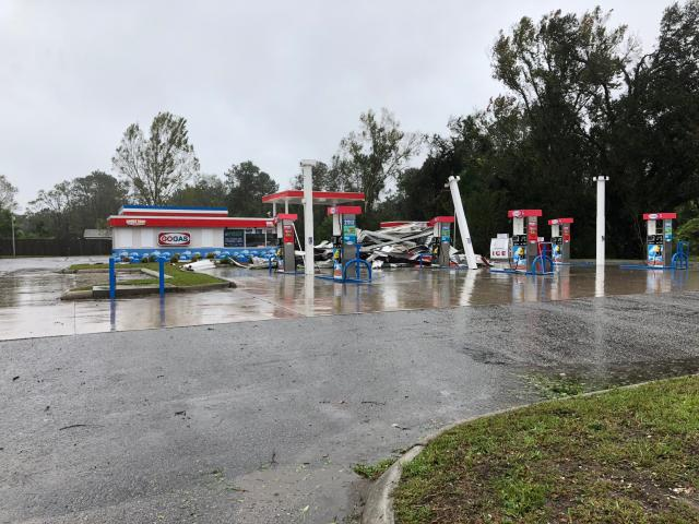 Damage from Hurricane Florence in Wilmington<br/>Photographer: Chad Flowers<br/>Web Editor: Kyle Morton