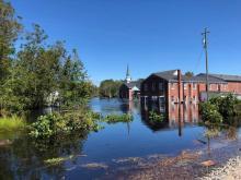 Flooding in Fair Bluff
