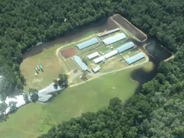 WRAL flew along with Sound Rivers, an environmental group, as it surveyed farms and flooding.<br/>Reporter: Mandy Mitchell<br/>Web Editor: Dave Hendrickson
