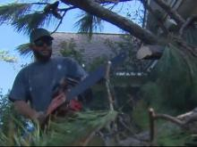 'They didn't expect anyone to come:' Volunteers clean up Florence debris