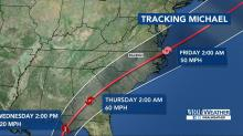 IMAGES: Michael could become first Category 4 to make landfall at Florida Panhandle