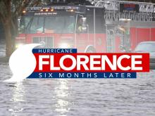 Hurricane Florence, six months later