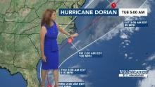 IMAGES: When, where and how will Hurricane Dorian impact NC? WRAL meteorologists share latest storm updates