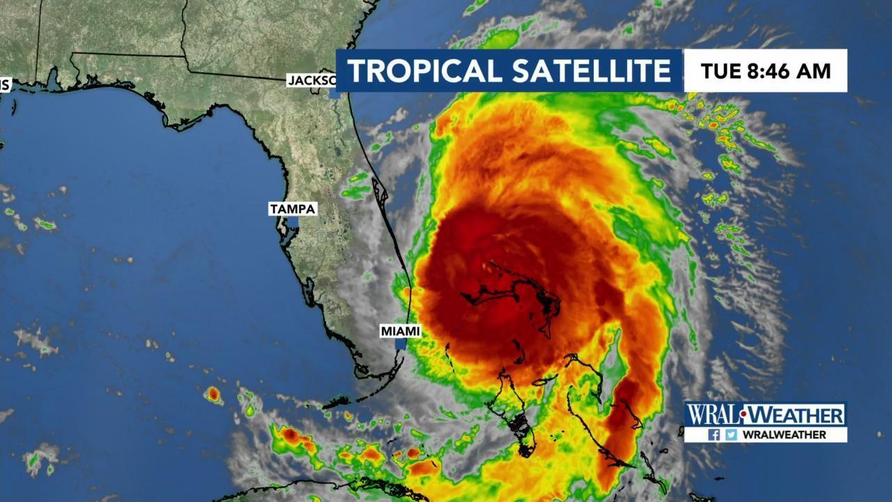 Hurricane Dorian: Parts of Outer Banks under hurricane
