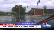 IMAGES: Savannah feeling some wind, little rain as Hurricane Dorian passes