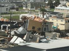 Emerald Isle tornado damage