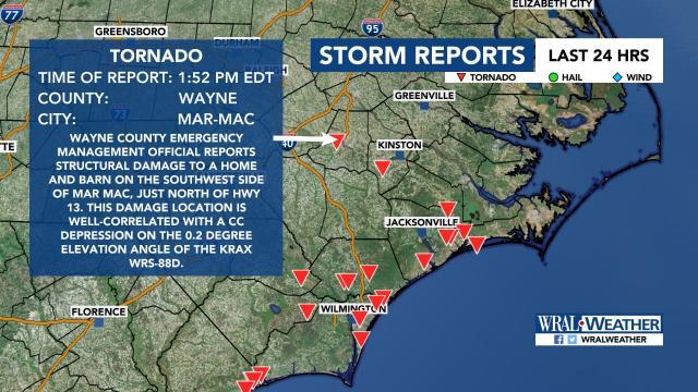 Mar-Mac storm report