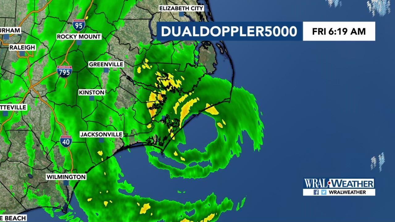 Live updates: Hurricane Dorian to bring hurricane-force